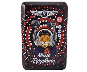 FONE DE OUVIDO MUSIC EARPHONE FANCY FB210
