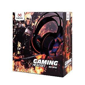 HEADSET GAMER MOX MO-HP50 GAMING