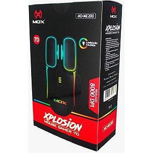 MOUSE GAMER XPLOSION 7D 8000DPI MOX MO-ME200