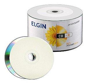 CD-R ELGIN 700MB BULK C/50 PRINTABLE 82201