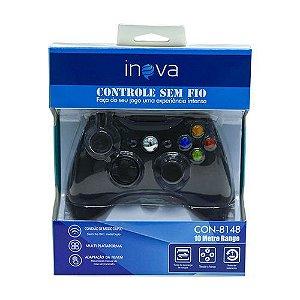 CONTROLE SEM FIO XBOX 360 INOVA CON-8148
