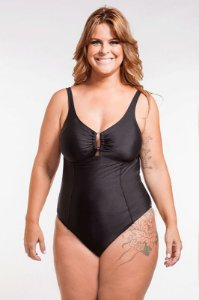 Maiô | Plus Size | 930 Black
