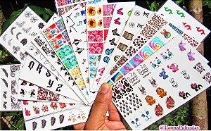 Kit pronto FRETE GRÁTIS + de 245 pares C/ todos nossos mini cartelões