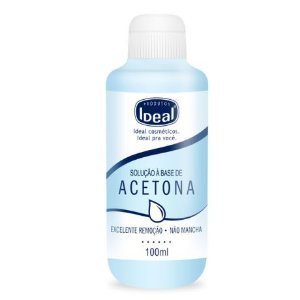 Removedor de esmaltes Ideal A Base Acetona 100ml