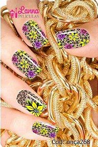 Película Modelo Onça Flor Amarela