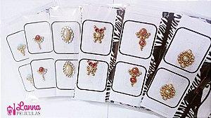 Mini Kit Jóias de Unhas Luxo