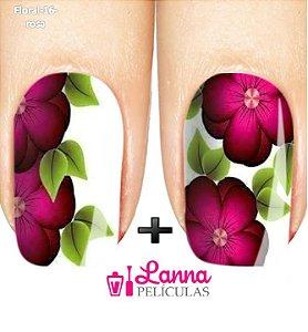 Películas de unha- Floral