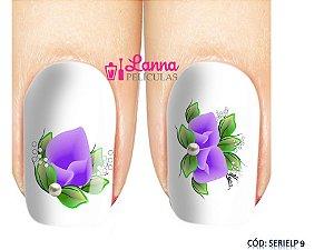 Películas de unha (SerieLP) -Orquídea Lilas