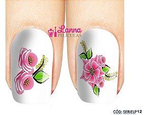 Películas de unha (SerieLP) - Floral Rosa