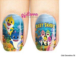 de unha- Modelo Baby Shark