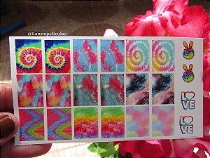 mini Cartelão Películas - Cartelão Tie Dye