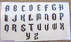 mini Cartelão Películas - Cartelão Alfabeto