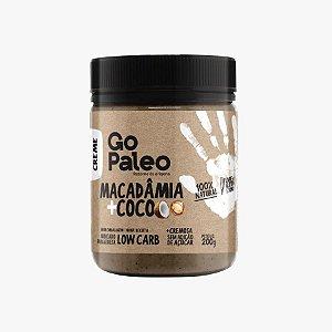 Go Paleo - Creme de Macadâmia e Coco - 200g