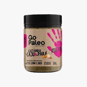 Go Paleo - Creme de Castanhas de Caju e do Brasil - 200g