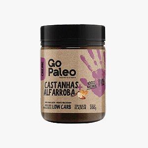 Go Paleo - Creme de Castanhas e Alfarroba - 200g