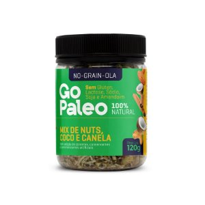 No-Grain-OLa - Mix de Nuts, Coco e Canela - 120g