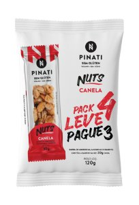 Pinati Nuts Canela - Pack Leve 4 Pague 3