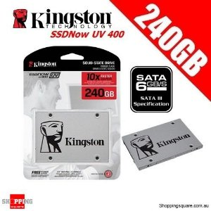 Hd Ssd 240gb Sata 3 Kingston A400 2,5