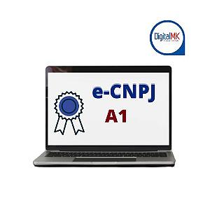CERTIFICADO DIGITAL   e - CNPJ -A1