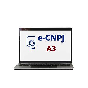e-CNPJ A3 (COM SMARTCAD DO CLIENTE)
