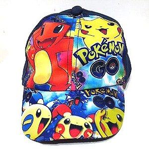 Boné Infantil Pokémon Go - Snapback