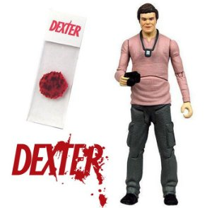 Action Figure Dexter Morgan - Analista de Respingos de Sangue