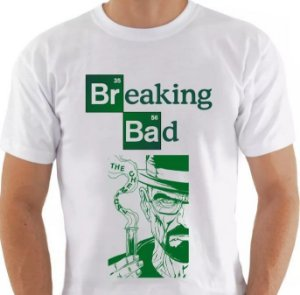 Camiseta Série Breaking Bad