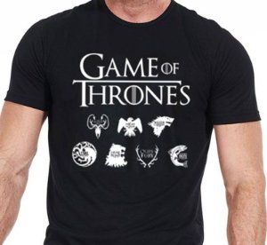 Camiseta Série Game Of Thrones