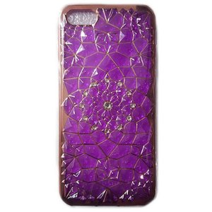 Capa Craquelê Com Strass - Iphone 5 5s / 6 6s