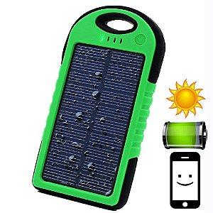 Carregador de Bateria Portátil Solar Universal - À Prova D'agua