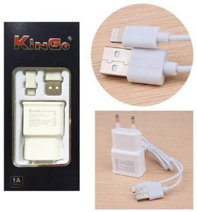 Carregador Para Iphone 5 / 6 - Kingo
