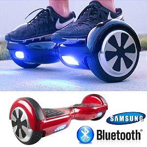 Hoverboard Smart Bluetooth Skate Elétrico Bateria Samsung