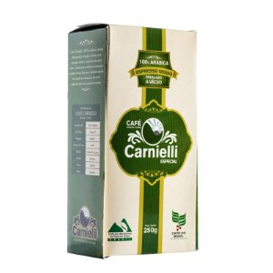 Café Torrado e Moído Carnielli Espresso Vácuo - Especial (250g)