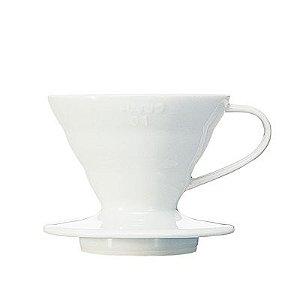 Suporte Filtro Cerâmica Branco Hario V60 - nº 01