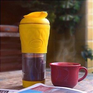 Cafeteira Pressca Amarela