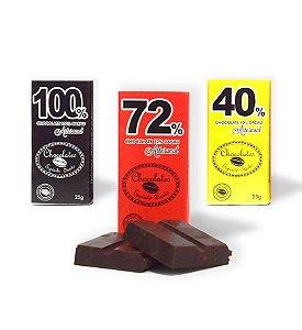 Kit 3 unidades Chocolates Espírito Santo