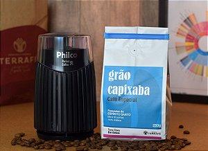 Moedor Philco elétrico + Café Grão Capixaba