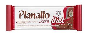 Barra de Chocolate ao Leite Diet 25g