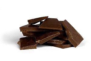 Lascas de Chocolate Meio Amargo (50% Cacau)