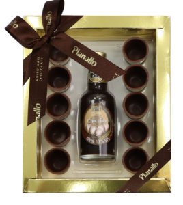 Copinhos de Chocolate com Licor