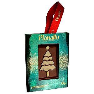 Placa Árvore de Natal - Chocolate ao Leite 30g