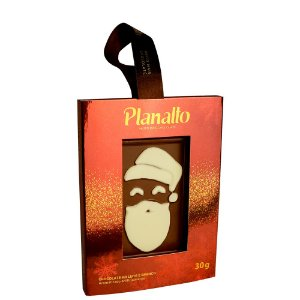 Placa Papai Noel - Chocolate ao Leite 30g