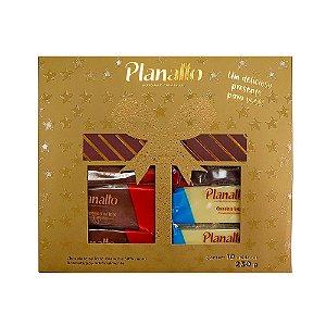 Estojo Tabletes de Natal 230g (Dourado)