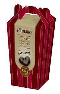 Pipoca coberta com Chocolate ao Leite - Gourmet - 120g