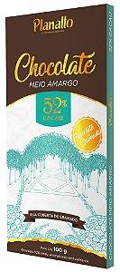 Barra de Chocolate meio amargo 52% cacau Temática - Rua Coberta