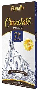 Barra de Chocolate amargo 71% cacau Temática - Igreja Matriz