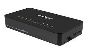 Switch Intelbras 8 portas Fast Ethernet SF 800 Q+