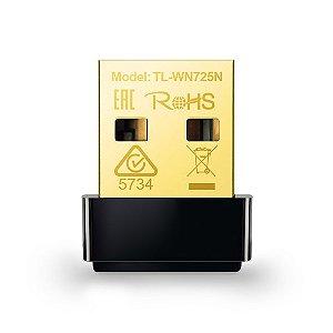 Nano Adaptador USB Wireless N150Mbps TL-WN725N