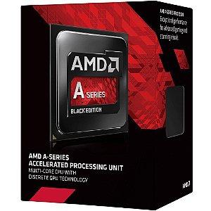 Processador AMD A6 7400K Kaveri, Black Edition, Cache 1MB, 3.5GHz (3.9GHz Max Turbo), FM2+ AD740KYBJABOX