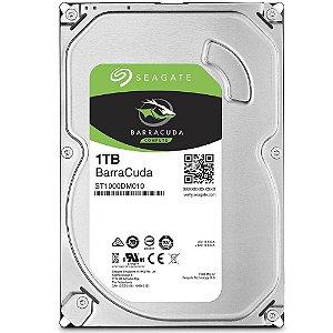 HD Seagate SATA 1TB 64MB 7200RPM BarraCuda 6Gb/S - PN # ST1000DM010